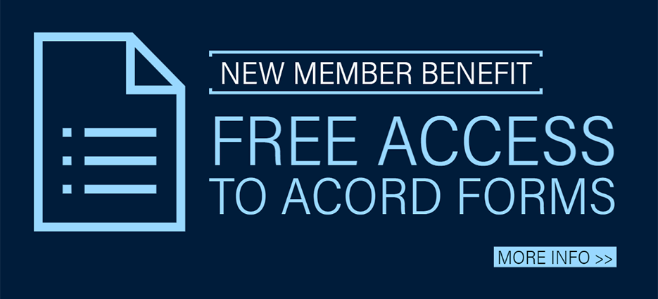 Free ACORD forms for your Agency